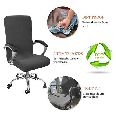 AU20.99 • Buy Waterproof Computer Office Chair Covers Swivel Seat Stretch Protector Spandex