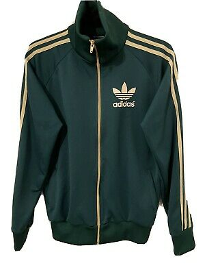 Adidas Originals Hooded Track Top Jacket - Size Small ( Chest 38 ) • 10£