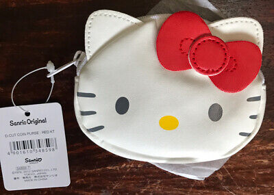 Hello Kitty Sanrio Coin Purse (red Bow) Brand New Xmas Stocking Filler. • 3.99£