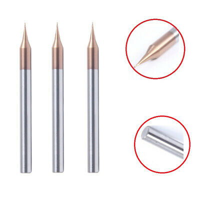 AU12.96 • Buy Solid Carbide Micro-Diameter End Mill 2 Flute Coated Square End Slot Drills Tool