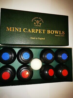 Townsend Croquet Limited Mini Carpet Bowls With Jack Boxed • 6.70£