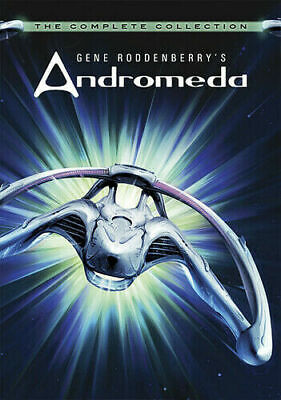 Gene Roddenberry's Andromeda: The Complete Collection [New DVD] Boxed Free Ship • 26.54£