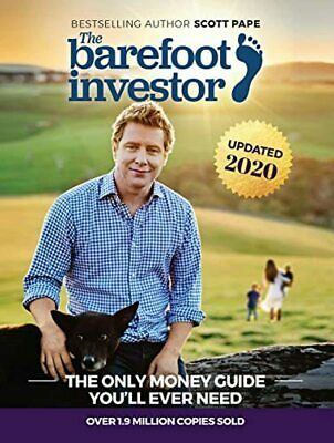 AU23.47 • Buy The Barefoot Investor Book By Scott Pape 2020 Update - Paperback