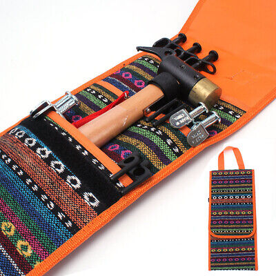 AU13.46 • Buy Outdoor Camping Hammer Wind Rope Tent Pegs Nail Storage Bag Tent Accessories