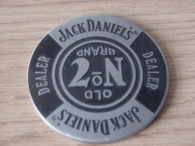 £16.95 • Buy Rare And Collectable New Jack Daniels Metal Dealer Poker Chip