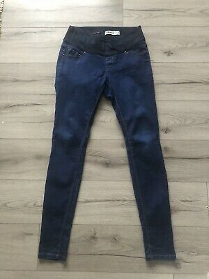 New Look Maternity Jeans Size 10 Under Bump Blue • 3£