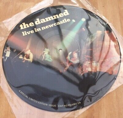 The Damned - Live In Newcastle - Good Condition Limited Edition Vinyl LP Record • 4.99£