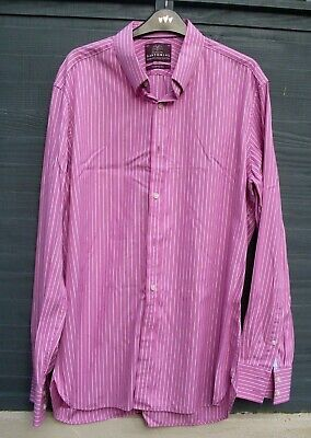 Sartorial From M&S Superior 2 Fold Cotton Shirt (Size 16½ )  • 4.99£