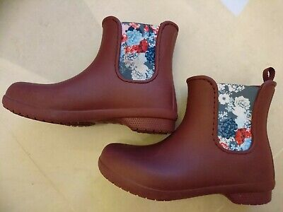 Womens Wellies Crocs Comfort Freesail Chelsea Boots Size UK 4  • 14.50£