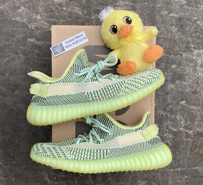 $ CDN254.71 • Buy 100% Authentic Adidas Yeezy Boost 350 V2 Yeezreel With Receipt - Mens Size 9