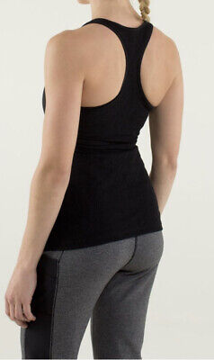$ CDN1.26 • Buy Lululemon Cool Racerback *Lace Black  6