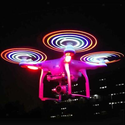 AU30.78 • Buy 4pcs LED Flash Propeller Night Flying Blade For DJI Phantom 3 Standard Drone