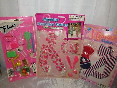 $ CDN16.52 • Buy Vintage Barbie Clothes And Accessories Sealed Packages Lot Of 3