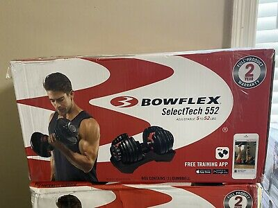$ CDN367.92 • Buy Bowflex SelectTech 552 Adjustable Single Dumbbell - New- Fast Free Shipping