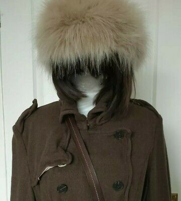 All Saints Wool  Coat  Size 12-14 With Hat And Scarf • 69.99£