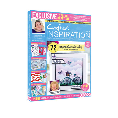 £8.75 • Buy Crafters Companion - CRAFTERS INSPIRATION - Issue 29 Winter Edition FREE UK P&P
