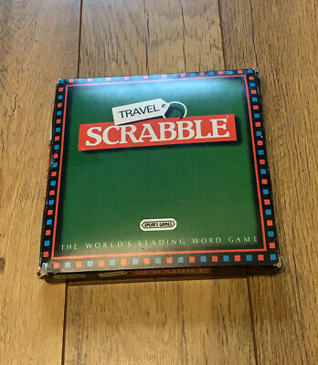 Travel Scrabble, Spear's Games, The World's Leading Word Game, Inc Soft Zip Case • 14.99£