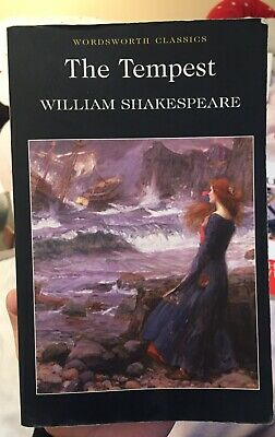 The Tempest William Shakespeare Paperback With Notes • 5£