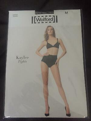 Wolford Kaylee Fishnet Tights, Black, Size M • 12.50£