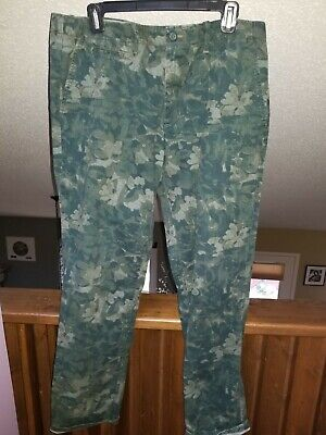 $ CDN22.97 • Buy Gap  The Lived-In Slim  Camo Pants - Men's Size 34X32 - Excellent Condition