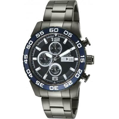 Invicta Specialty 13677 Men's Round Gunmetal Chronograph Date Analog Watch • 14.99£