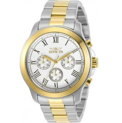 Invicta Specialty 21659 Men's Roman Numeral Two Tone 24 Hour Analog Watch • 14.26£