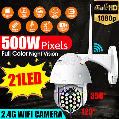 AU67.99 • Buy Wireless Security Camera System Wireless Home CCTV Wifi In/Outdoor Night Vision