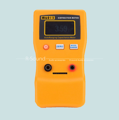 $55 • Buy M6013 Digital Automatic Range LCD Capacitance Meter 470mF With SMD Test Clip