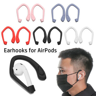 AU2.68 • Buy Earphone Holders Protective Ear Hook Secure Fit Hooks For Apple AirPods 1 2 Pro