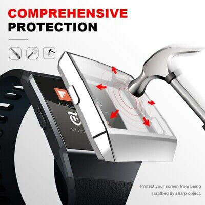 $ CDN9.58 • Buy Screen Protector Hard Protective Watch Case For Fitbit Ionic Rugged Smartwatch