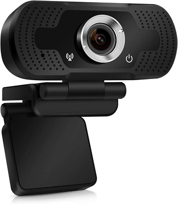 TMEZON Webcam With Microphone, HD 1080P Streaming Webcam For PC,MAC, Laptop,Plug • 26.94£