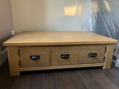Next Oak Coffee Table • 150£