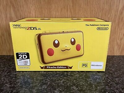 AU84 • Buy New Nintendo 2DS XL - Pikachu Edition - Limited Edition - AUS - (BOX ONLY)