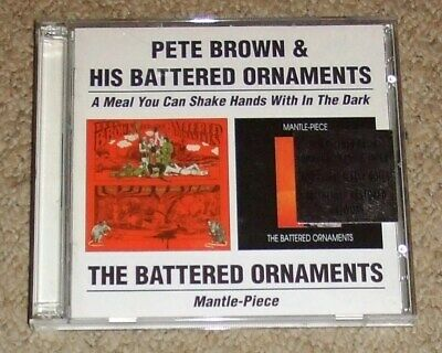 PETE BROWN/BATTERED ORNAMENTS - A Meal You Can/Mantle-Piece - 2 CD Album • 19.99£