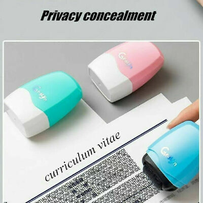 Identity Theft Protection Roller Stamp Privacy Confidential Guard Your ID Data • 4.79£