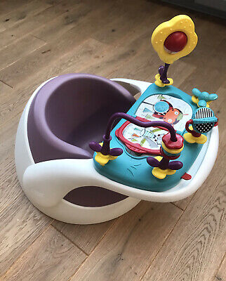 Mamas And Papas Baby Snug Seat Activity Tray Bumbo Booster Feeding - Posted • 34.99£