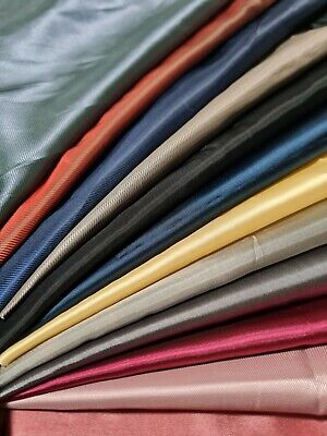 £2.44 • Buy DRESS LINING FABRIC ACETATE 7 Colours- SOLD BY THE METRE