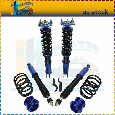 $260.18 • Buy For Ford Mustang 1994-2004 Coilovers Shocks Struts Suspension Springs Kits
