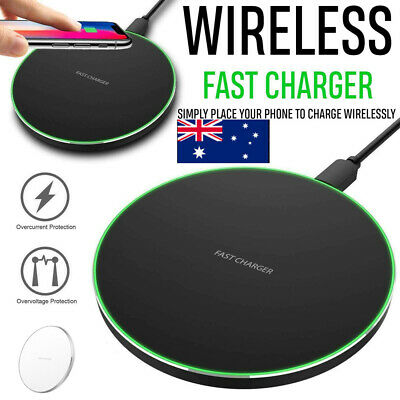 AU12.99 • Buy AU*Wireless FAST Charging Pad Charger 15W Qi For IPhone 11 Pro XS Max XR Samsung