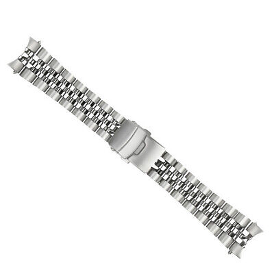 $ CDN49.03 • Buy 22mm Solid Link Super Heavy Watch Band For Seiko Skx007/009/011 316l Solid End L