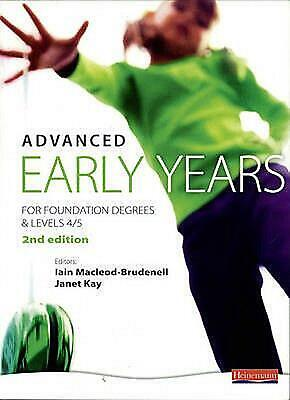 £56.07 • Buy Advanced Early Years: For Foundation Degrees And Levels 4/5, By Vicky Cortvriend