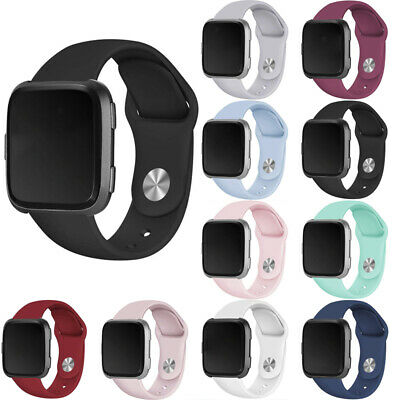 $ CDN4.08 • Buy For Fitbit Versa Watch Wrist Strap Band Replacement Silicone Bracelet Waterproof