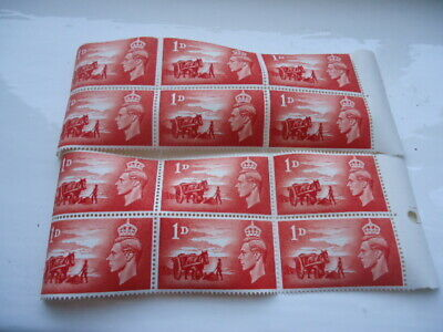 12 X Third Anniversary Of The Liberation 1d Stamps Guernsey • 1£