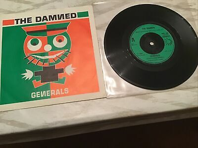 Punk Vinyl Record The Damned Generals • 8.60£