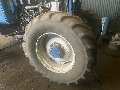 Ford New Holland Tractor Front Wheels And Tyres 480 65 28 • 350£