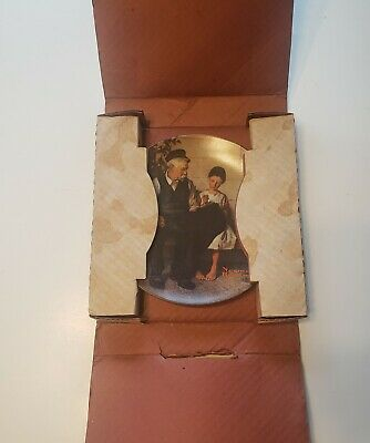 $ CDN8.90 • Buy Norman Rockwell's Lighthouse Keeper's Daughter Vintage Edwin M. Knowles Plate