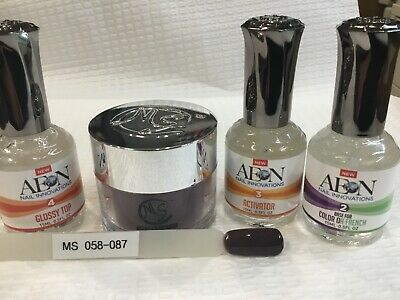 AU69 • Buy SNS MS MYSTIC SYSTEMS 058-087 Nail Dipping Powder Kit Signature Nails System AUS