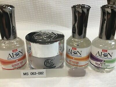 AU69 • Buy SNS MS MYSTIC SYSTEMS 063-082 Nail Dipping Powder Kit Signature Nails System AUS