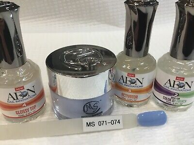 AU69 • Buy SNS MS MYSTIC SYSTEMS 071-074 Nail Dipping Powder Kit Signature Nails System AUS
