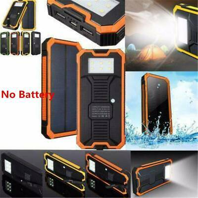AU17.49 • Buy Portable Solar Power Bank 50000mAh Dual USB External Battery Charger For Phone